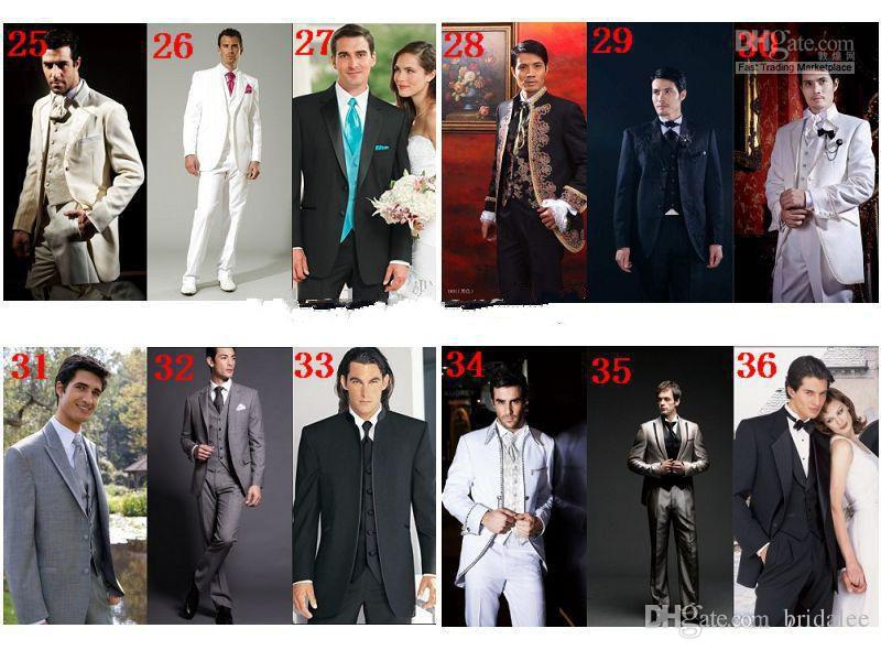 Тонкий королевский синий свадебные смокинги для жениха и жениха черный платок лацкан выпускного вечера костюмы две кнопки мужские костюмы куртка + брюки + лук