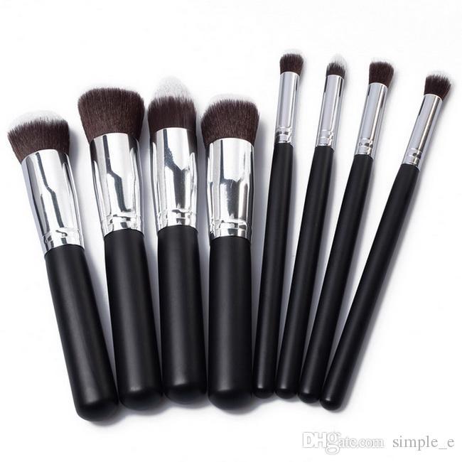 ホットセール8in1 Proプロの化粧品セットキット基礎パウダーメイクアップ化粧品ブラシツール卸売DHL送料無料