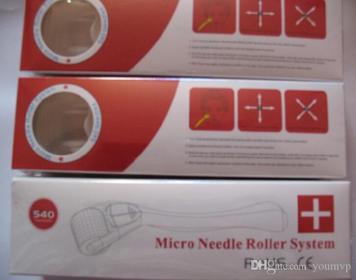 540針Dermaローラーチタニウム合金針MRSスキンローラー、セルライトDHL無料