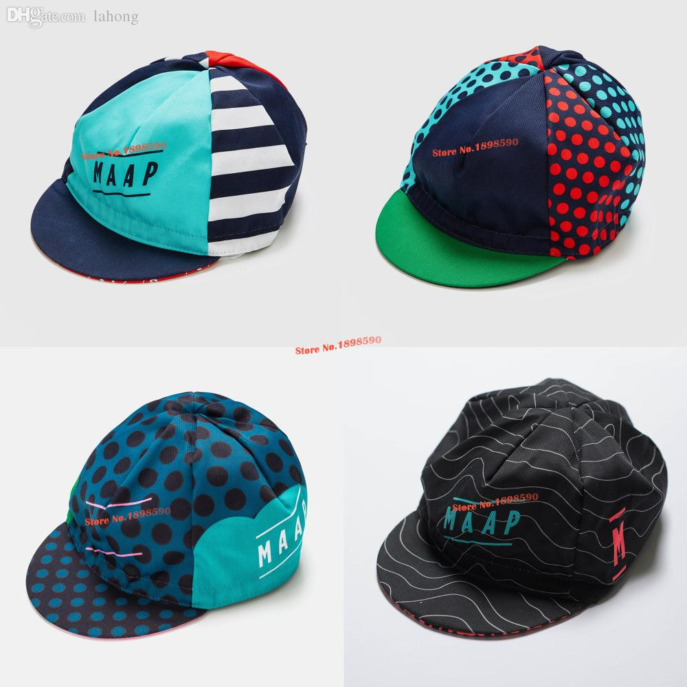 4ade19d6bbe 2019 Wholesale New 2016 MAAP Racing Team 4 TYPES Pro Cycling Caps   Scarfs    Headwear MTB   ROAD Bike Riding From Lahong