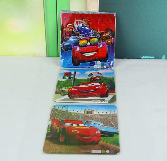 free shipping racing cars puzzle books 3pcslot children learning educational cognitive study kindergarten toys kids gifts