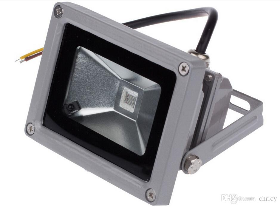 BRIDGELUX RGB LED الكاشف 10W 20W 30W 50W للماء في الهواء الطلق اللون تغيير الصمام الأضواء مع 24 مفتاح تحكم عن بعد الأشعة تحت الحمراء