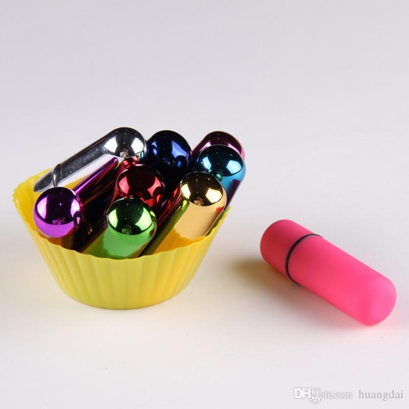 Mini Bullet Vibrateurs Étanche Sans Fil Balles Vibrant Oeufs et Balles Sex Toy livraison gratuite