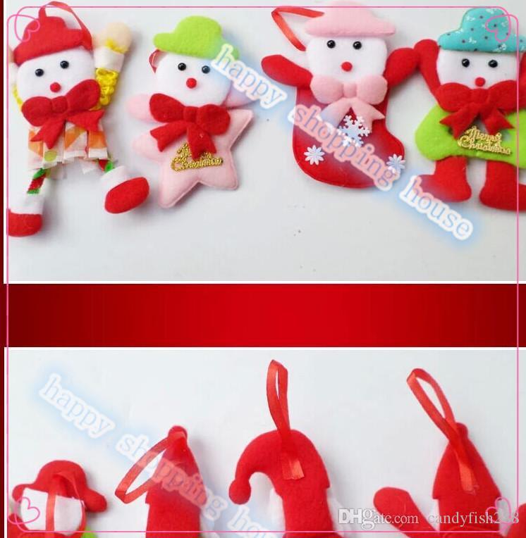 10 adet şapka Ücretsiz kargo Noel ağacı süslemeleri çelenkler üst şerit çizgili üst düğün dekorasyon çelenk madder şifreleme