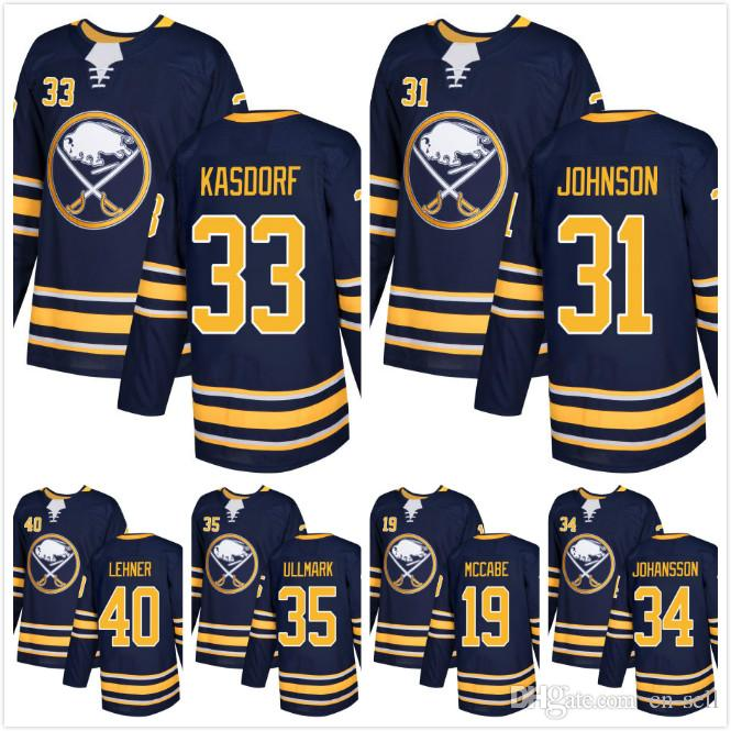 a3fa01b23 ... nhl jersey 796c4 17f3e  free shipping best 2018 mens buffalo sabres  sweatshirts chad johnson 33 jason kasdorf 40 robin lehner