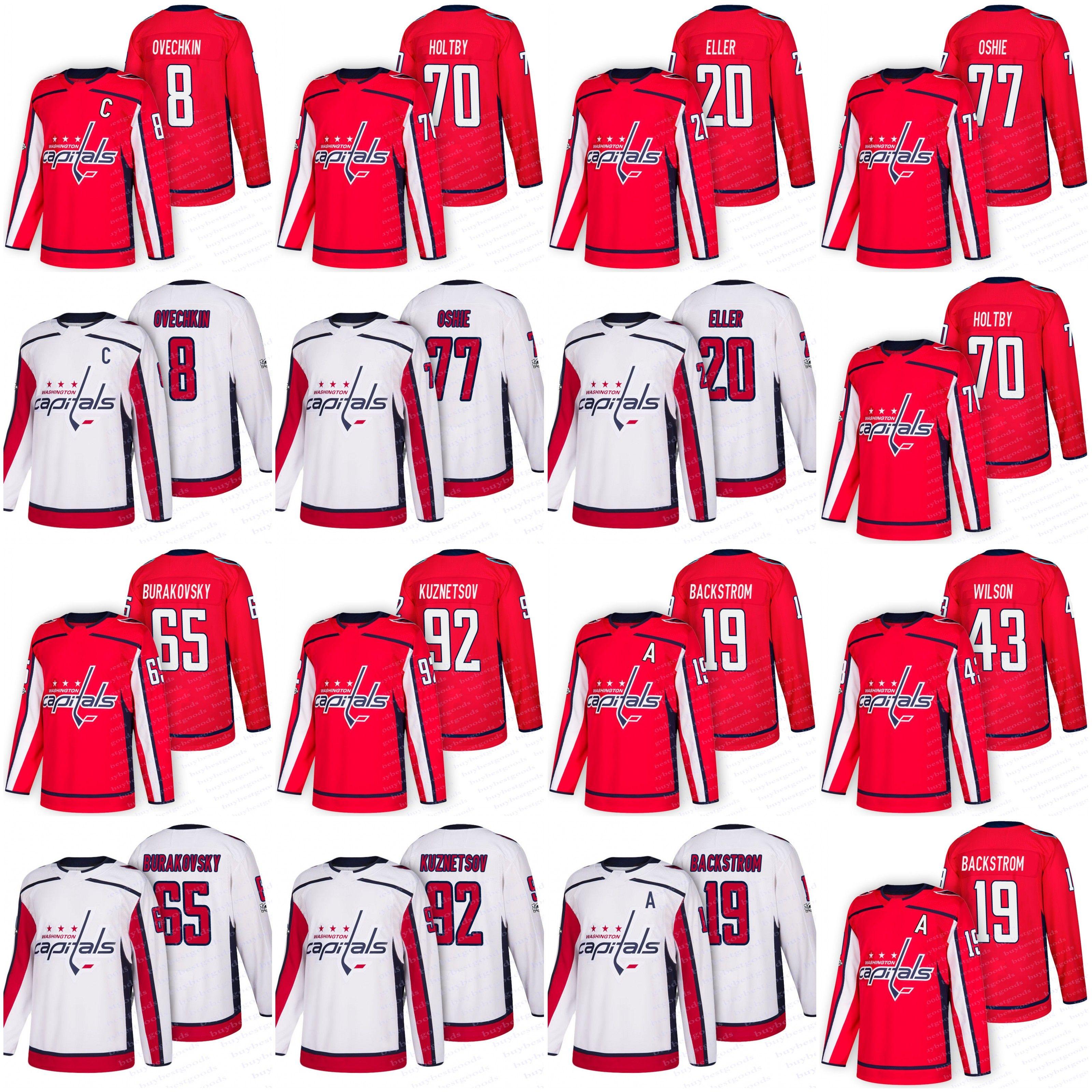 ... order discount 2018 washington capitals hockey jerseys 77 t.j. oshie 92  evgeny kuznetsov 8 alex ovechkin 43a6f7cdf
