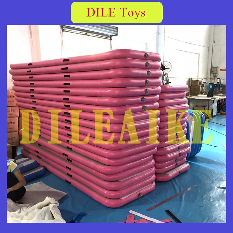Livraison gratuite 4x1x0. 2 m Gonflable Air Piste Gym air tapis gonflable Air Gym Tapis de haute qualité gonflable linge piste