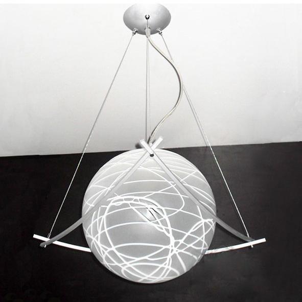 Modern Diameter 25cm 30cm Glass Shade Pendant Light Lighting Fixture Drawing Parlor Dinning Room Bedroom E27 Bulbs Lamps From
