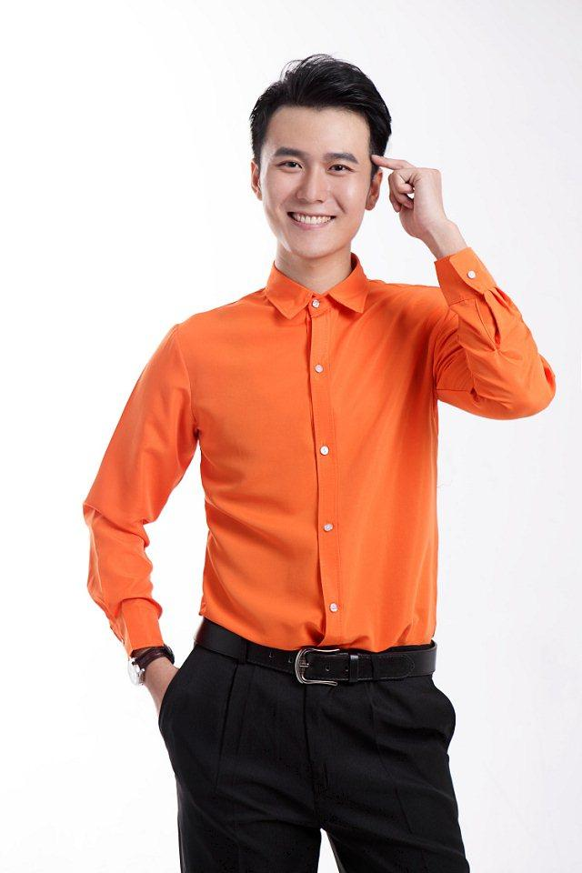 2015 Orange Mens Wedding Shirts Gorgeous Tuxedos Shirts Business ...