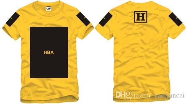 Size S--3XL 2017 summer t shirt Hood By Air HBA Been Trill Kanye blank print Hba tee men tshirts 100% cotton