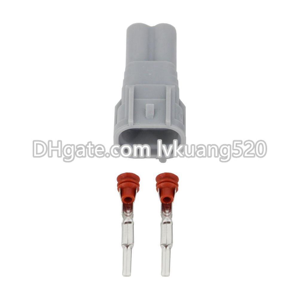 2 Pin Car connector plug,Car Waterproof fog lamp plug for SGMW Toyota car ect. DJ7023-2-11/21