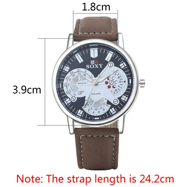 Watch Fashion Watches Uk Gold Platimng Brown Matte Pu Leather Band Watch  And 0.7cm Case Thickness Watches Online Buy Online Buy Watches From  Dhalice c38ce004ff92