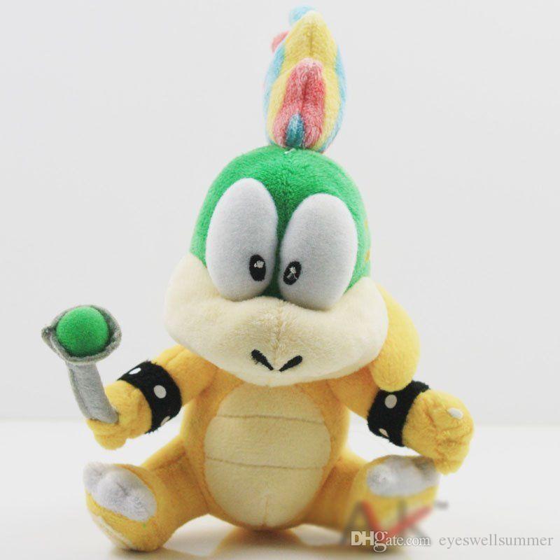 EMS Super Mario Bros Koopa Plush Dolls Wendy / LARRY / IGGY /Ludwig /Roy / Morton /Lemmy O.Koopa