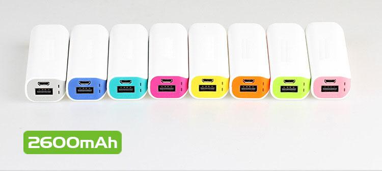 Wholesale-New 2600mah Romoss usb power bank backup portable rechargeable battery bank travel mini powerbank for iphone 6 5 samsung galaxy S5