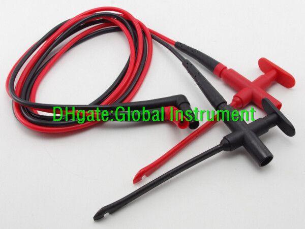 Insulation Piercing Clip +test leads TL224, Banana Jack Spring loaded copper red black