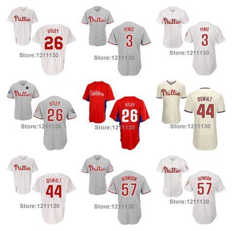 2016 New Philadelphia Phillies Baseball Jersey Shirt  26 Chase Utley ... 692c32a18