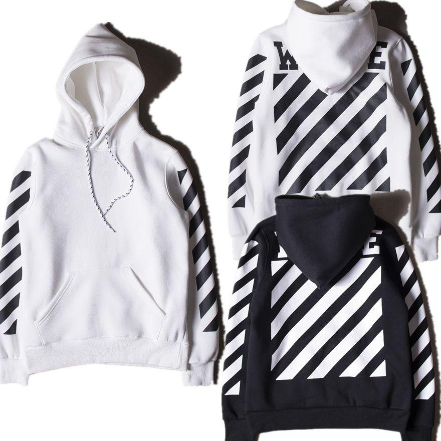 Off White Hoodies Men Women High Quality Kanye West Off White ...