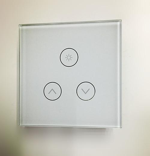 online cheap led touch dimmer switch 0 500w ac 110v 220v 230v led lights switch ce rohs eu uk by protechmfg dhgatecom - Dimmer Light Switch