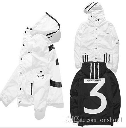 2018 y 3 jacket men yohji yamaoto fashion trend yeezus yeezy top