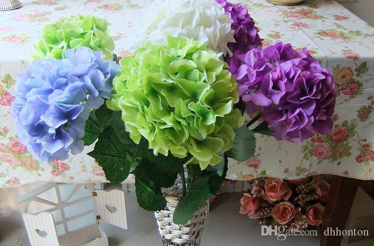 Silk hydrangea flower ball decorateive flower real touch artificial silk hydrangea flower ball decorateive flower real touch artificial flowers good quality for wedding garden market decoration hydrangea silk flower pomander mightylinksfo