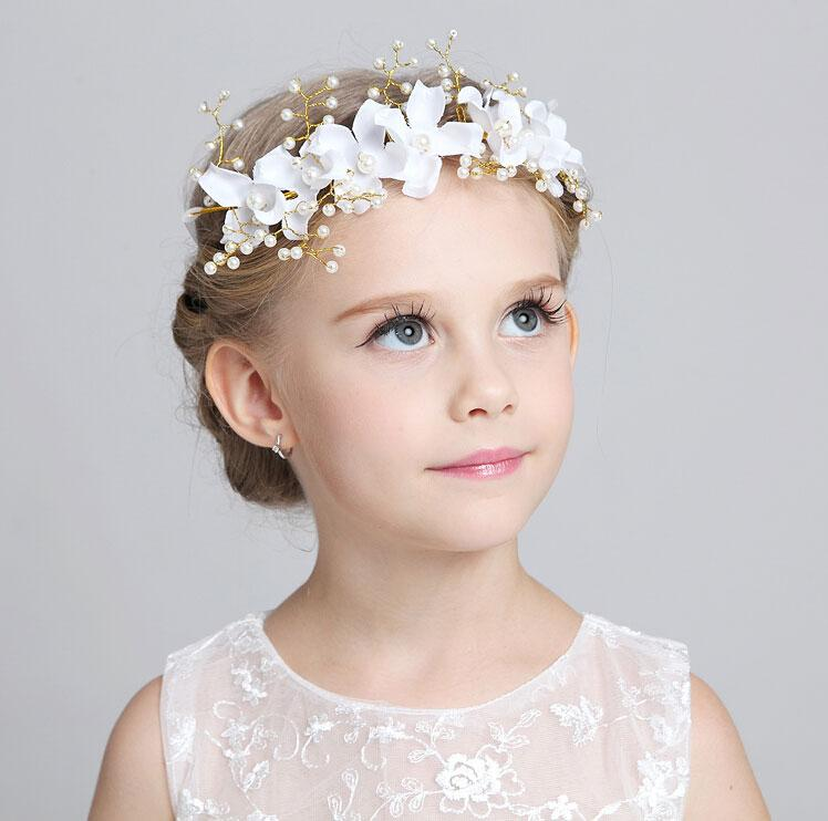 Home > Hair Accessories > Tiaras > Children's Headpieces. Wholesale Bridal Supplier of Popular & Trendy bridal jewelry, headpieces, veils and wedding accessories. Best Prices & Selection. Children's Headpieces. Children's Fabric & Ribbon Headpieces. Children's Crystal Headpieces.