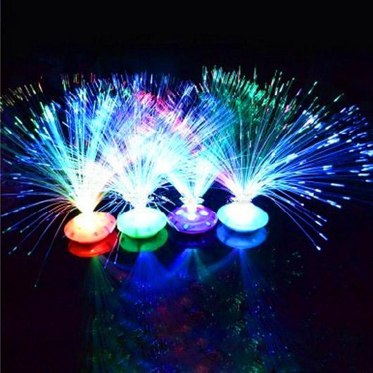 Fibre Optique Deco Acheter : Acheter hot vente coloré ciel Étoilé fibre optique