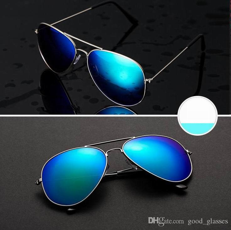 f929ba244f2 Hot Sunglasses 58mm Unisex Fashion Men Women Polarized Vintage Pilot ...