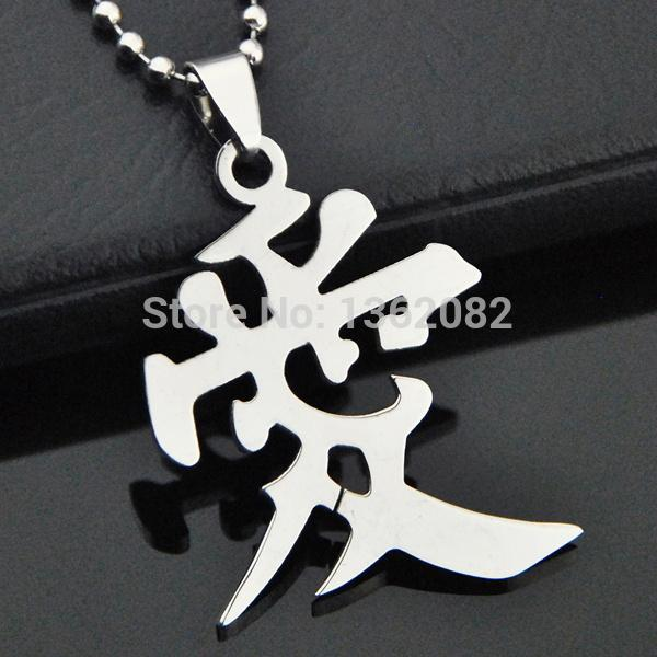 Wholesale Fashion Jewelry Lovers Silver Tone Stainless Steel Chinese