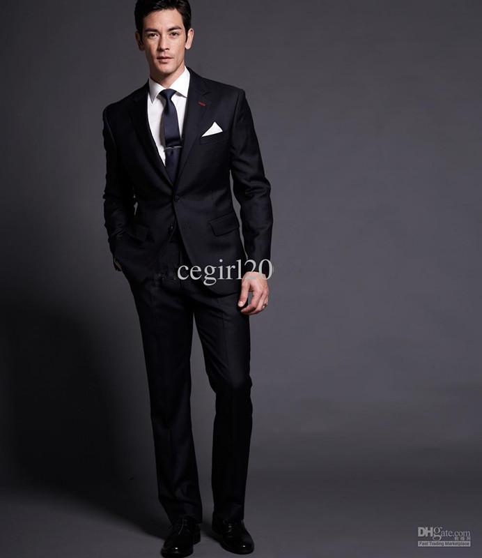 Men Suit /Men Suits/ Mens Complete Designer Tuxedo/Bridegroom Suit ...