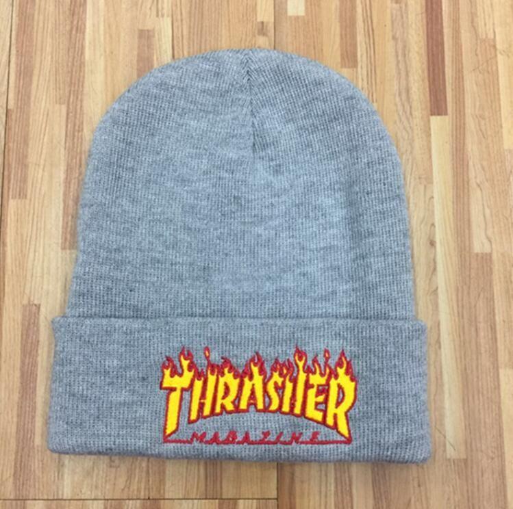 9 styles Popular Beanies Winter Hat hip-hop winter warm embroidery knit hat skim hat Xmas gift