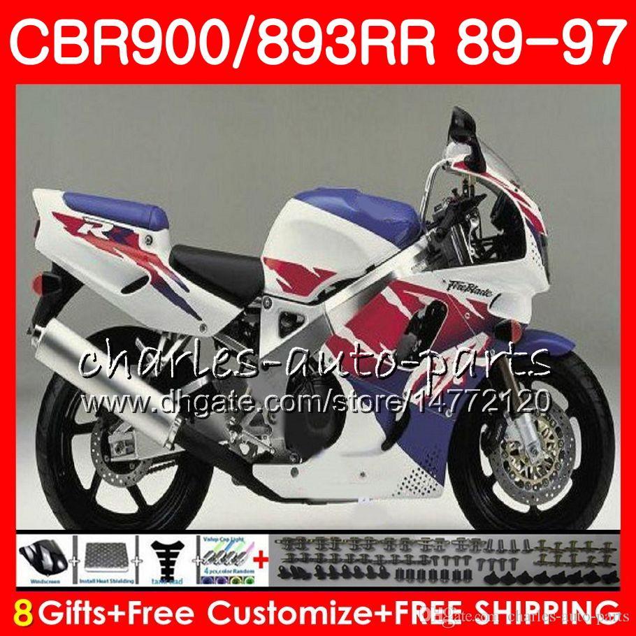 Front Brake Pads For Honda CBR900RR Fireblade 900 1992 1993 1994 1995 1996 1997