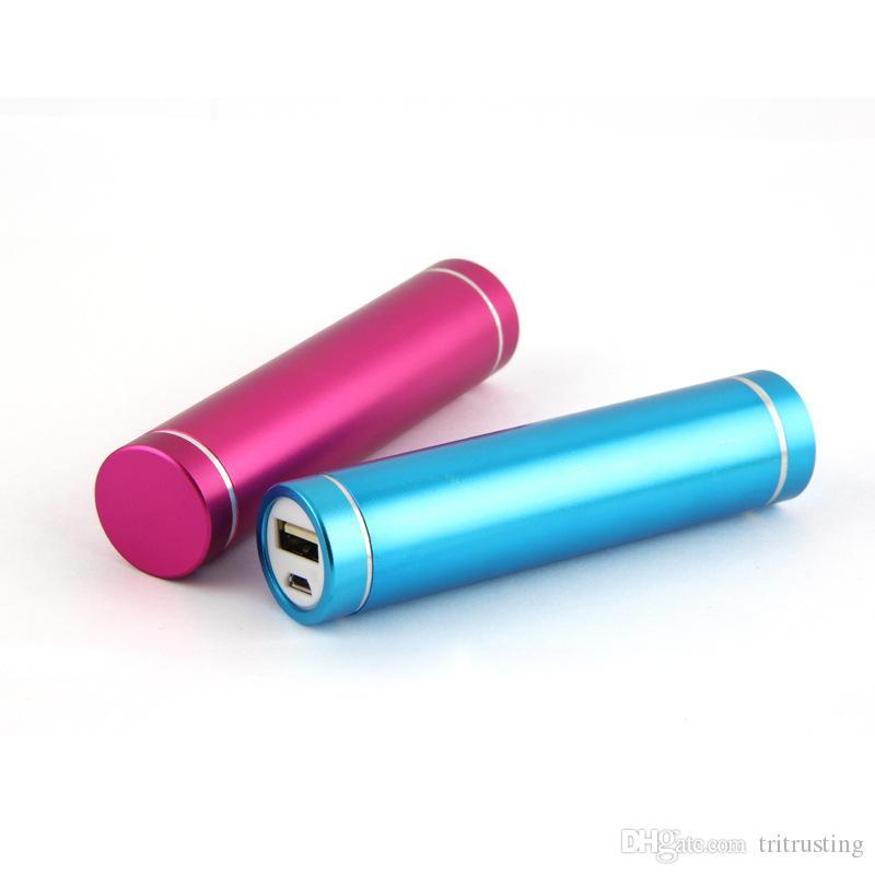 2600mAh Metall bewegliche Energien-Bank-externe Ersatzbatterie USB-Ladegerät für Samsung S5 / S4 / S3 alle Mobiltelefone MQ50