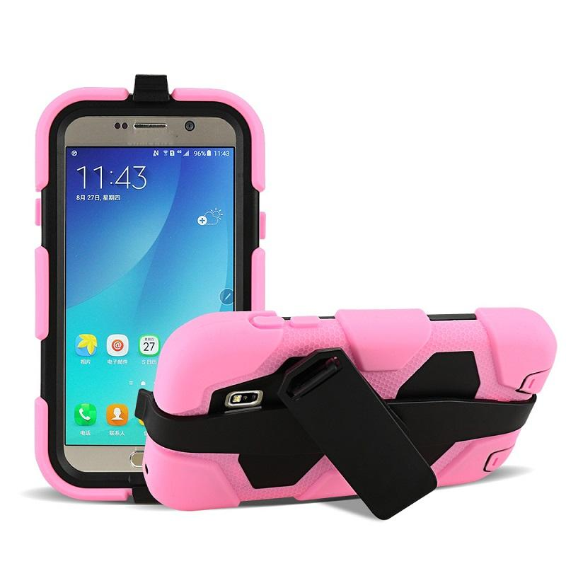 Hybrid Military Silicone & PC Shell Shockproof Duty Stand Case Cover with Belt Clip for iPhone 4 5 5C iphone 6 6plus