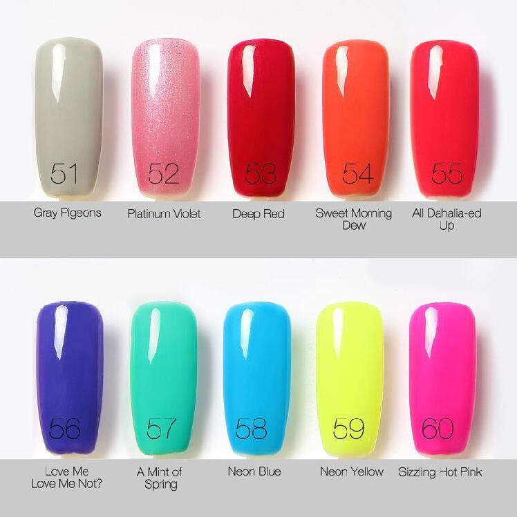 Nail Gel Polish UV Led Brillante Colorido es 6ml Long Lasting Soak off Varnish Manicur Barato