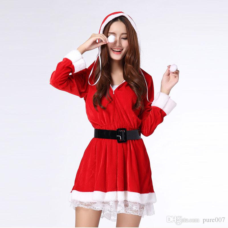 Sexy santa outfit for women