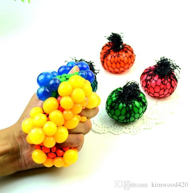 PrettyBaby nettes Antidruck-Gesichts-Entlastungs-Trauben-Kugel-Autismus-Stimmungs-Pressungs-Entlastungs-gesundes Spielzeug-lustiges Aussenseiter-Gerät-Entlüftungs-Spielzeug freies Verschiffen