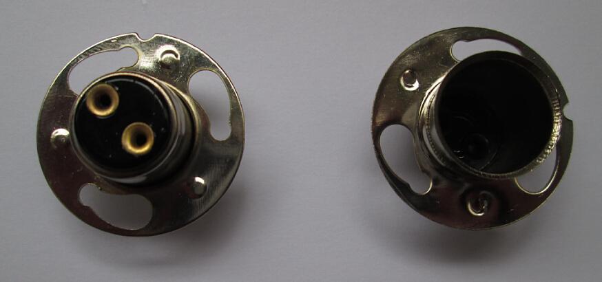 P15D-30 lamp bases socket for auto light bulb 12V 35W