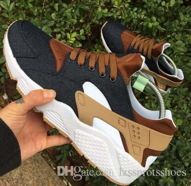 00ebd0a56558 2019 2017 Huarache ID Custom Breathe Running Shoes For Men Women ...