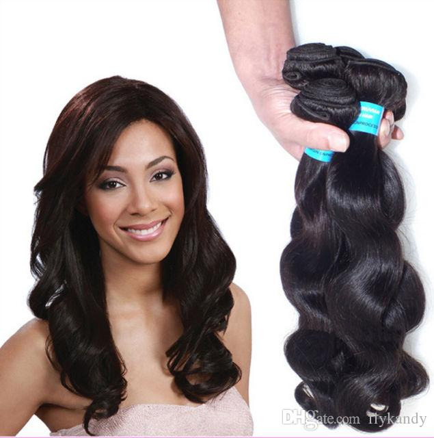 Natural Luster Indonesian Virgin Ocean Wavy Hair Weaving Bundles10