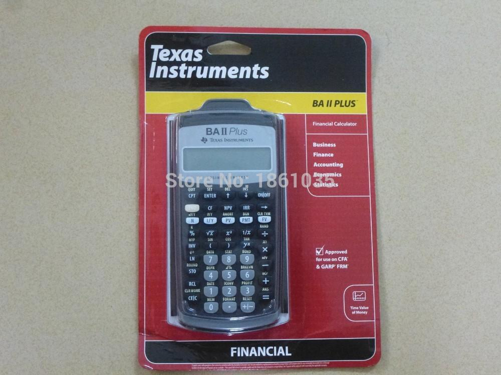 Brand New Texas Instruments Ba Ii Plus Financial Calculator