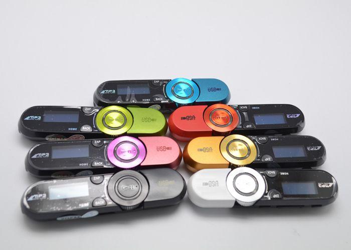 152 USB Flash Drive MP3 Player Real 2GB/4GB/8GB FM radio Recording Multi languages + Crystal Stereo Earphone