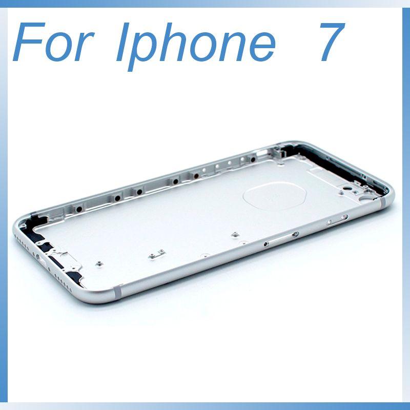 Copri Cover Custodia Case 2D Gomma Apple Iphone 8 8s e 7 7s