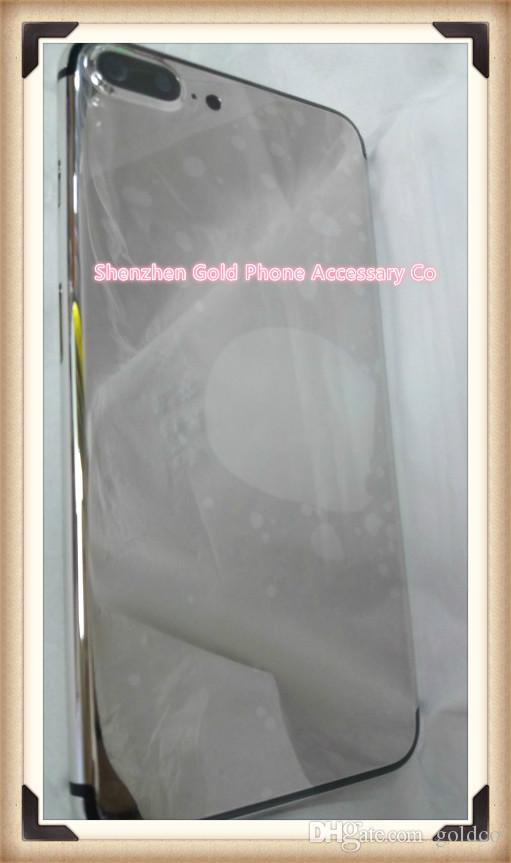 24Kt platinum Plating Back Housing Cover Skin Battery Door For iPhone 7 style outlooking Luxury Limited Edition Golden for iphone6 6s plus