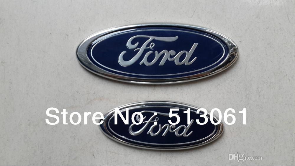 New 2PC Ford emblem Front Ford emblem and Rear Car Badge For Ford Ford Car Emblem Badges & New Ford Emblem Front Ford Emblem And Rear Car Badge For Ford ... markmcfarlin.com