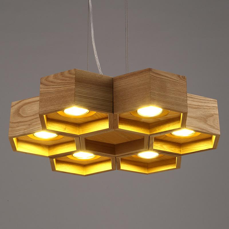 Honeycomb Pendant Light: Ems Free Ship Honeycomb Pendant Light Modern Simple