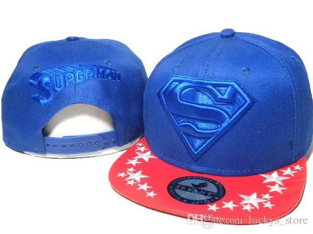 Ücretsiz Kargo Yeni Stil Pamuk Batman superman karikatür Snapback Hip Hop Kap Şapka Moda Rahat Beyzbol Şapkası Şapka Erkekler Kadınlar Için