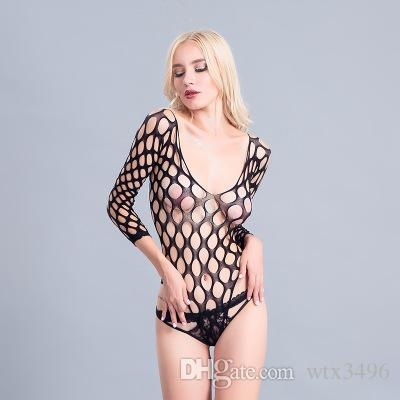 883d7ffcd Hottest Large Mesh Women Sexy Teddy No Floral Shads Deep V-shpaed ...