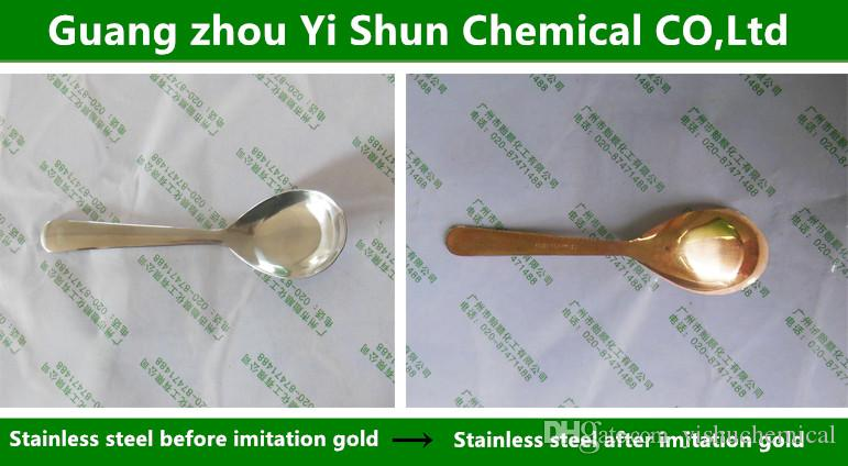 imitate champaign gold water/metal coloring agent/Champagne color imitate  golden water/stainless steel imitation of champagne/security and e