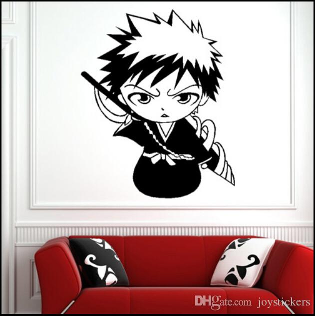 Decal Removable Home Decor Vinyl Decal Cartoon Q Style Bleach