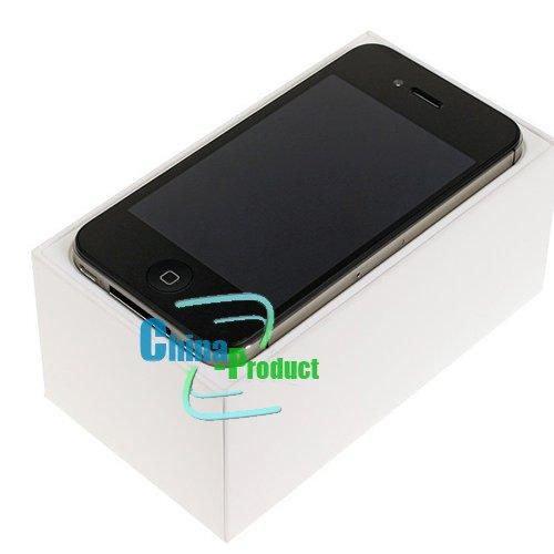 "Original 3.5"" inch Apple iPhone 4S Unlocked Cell Phones 16GB Dual Core IOS WCDMA 3G Phone Refurbished only phone"